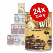 24 x 390 g Taste of the Wild Pacific Stream comida húmeda para perros