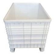 Socepi Contenitore industriale per alimenti 80x120 cm 530 litri colore grigio
