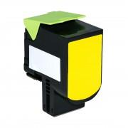 Lexmark Cartucho de tóner para LEXMARK 70C20Y0 / 702Y amarillo compatible (marca ASC)