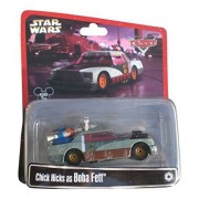 Disney Star Wars Pixar Cars Chick Hicks as Boba Fett 1/55 Die-Cast Series 2 - Theme Park Exclusive L