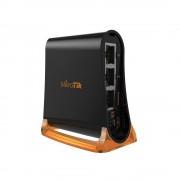 AP, Mikrotik HAP mini RB931-2ND, 32MB RAM, 3xLAN, built-in 2.4Ghz 802.11b/g/n, tower case