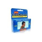 Protetor de Ouvido de Silicone Adulto - ClearPassage