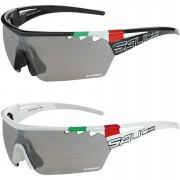 Salice 006 Italian Edition CRX Photochromic Sunglasses - Black/Smoke