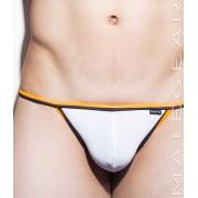 Mategear Tae Kon Mini G String Swimwear White 1501002