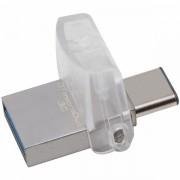Kingston 32GB DT microDuo 3C/ USB 3.0/3.1 + Type-C flash drive, EAN: 740617243024 DTDUO3C/32GB