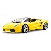 Burago Gold Lamborghini Gallardo Spyder