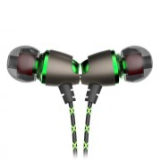 QKZ DM11 Magnetic Stereo BASS Metal In-Ear Noise Cancelling DJ HIFI Earphone with Microphone