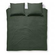 Damai Organic Birk dekbedovertrek - Lits-jumeaux (260x200/220 cm + 2 slopen) - Katoen - Green