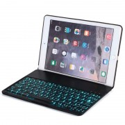 Teclado Bluetooth e Capa Witspad F8S Luminous Aluminum para iPad Air 2 - Preto