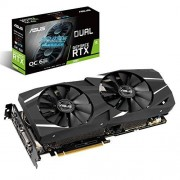 Asus Dual-RTX2060-6G Gaming-grafische kaart (nvidia, PCIe 3.0, 6 GB DDR6-geheugen, HDMI, DisplayPort)