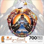 Mystical Shapes Sacred Spaces By Artist Charles Frizzell 700 Piece Shaped Puzzle - The Calling - Fea