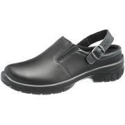 Dámska kožená pracovná obuv MONICA BLACK Farba: čierna, Veľkosť: 37