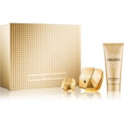 Paco Rabanne Lady Million coffret VIII. Eau de Parfum 80 ml + leite corporal 100 ml + Eau de Parfum 5 ml