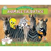 Animale salbatice. Cartea mea cu puzzle-uri (Baby Looney Tunes)/***