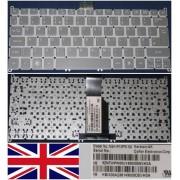 Clavier Qwerty UK Pour ACER Aspire S3 S3-951, Aspire S5, Aspire ONE 756, TravelMate B1, Gris / Grey, Model: NSK-R10PW 0U, P/N: 9Z.N7WPW.00U, KB.I100A.235