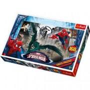 Puzzle Spiderman 160 pcs - In cautarea ticalosilor 15319 Trefl