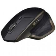 Мишка Logitech MX Master, лазерна (1600dpi), безжична, Bluetooth, USB, черна