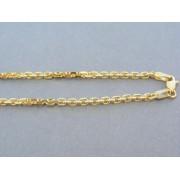 Zlatá retiazka vzor pílka žlté zlato DR551422Z