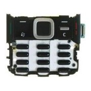 Клав. платка за Nokia N82 - Бяла,Черна