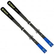 Salomon S/Max 12 + Z12 GW F80 Grey/Black/Yellow 160 20/21