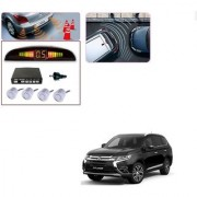 Auto Addict Car Silver Reverse Parking Sensor With LED Display For Mitsubishi Outlander