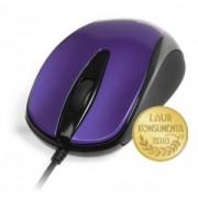 Mouse Cu Fir PLANO MT1091V Optic Albastru/Negru