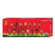 Set Figurine Soccerstarz Belgium 15 Player Team Pack 2016 Edition V2
