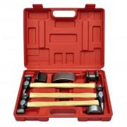 vidaXL Set pro opravu promáčknutých karoserií automobilů - 7 ks