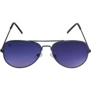 Walrus John Blue Color Unisex Aviator Sunglass - WS-JOHN-030303