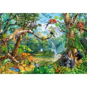Puzzle Castorland - Life Hidden In Jungle, 500 Piese