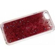 Skin Tellur Glitter iPhone 6 6S Roz Inchis