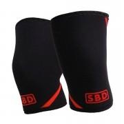 SBD Apparel SBD Knee Sleeves 3XL Black/Red