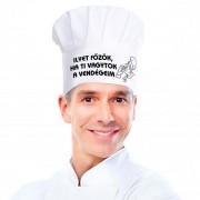 Ilyet főzök - Tréfás szakácssapka
