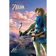 Pyramid International Legend of Zelda Breath of the Wild Poster Pack Hyrule Scene Landscape 61 x 91 cm (5)