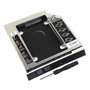Valley Of The Sun Brand New Laptop 2nd HDD SSD Caddy for Acer Aspire 5515 5517 5532 5750 5530G 5536G 5750G 5741G 5930G Second Hard Disk Drive Enclosure CD DVD Optical Bay Replacement