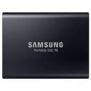 Твърд диск Portable SSD Samsung T5 Series, 1TB 3D V-NAND Flash, Slim, USB type-C , Metal Black, MU-PA1T0B/EU