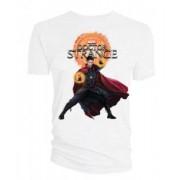 Tricou Doctor Strange Logo alb