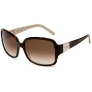 Kate Spade New York Women's Lulu Tortoise/Gold/Brown Gradient Lens Sunglasses One Size