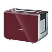 Siemens TT86104 - Grille-pain - 2 tranche - rouge airelle