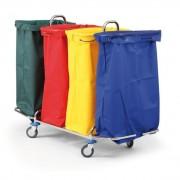 B2B Partner Polyesterové vaky pro vozíky, modrá