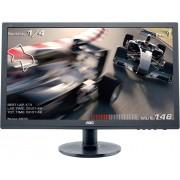 """Monitor 24"""" AOC E2460SH, FHD, 1ms, 250cd/m2, 20.000.000:1, D-Sub, DVI, HDMI, crni"""