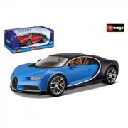 Bburgo bugatti chiron 1:18 rossa o blue colori assortiti (no scelta) 11040