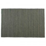 Alfombra gris yute 200x300cm GUNNY - Miliboo