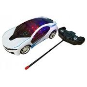 New Toy Vaibhavi Enterprise Latest BMW I8 Electric Chargeable 3D Lightning Remote Control Famous Car (Multicolor)