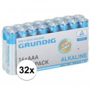Duracell Grundig LR03 AAA batterijen 32 stuks