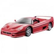 Метална количка, Bburago Ferrari - Модел на кола 1:24 - F50, 093910