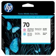 Cabezal de impresión HP 70 magenta claro/cyan claro, C9405A