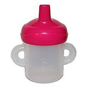 Baby Alive Doll Bottle/Sippy Cup with Removable Hot Pink Top