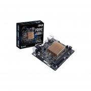 T. Madre Asus PRIME J3355I-C, Procesador Integrado Intel Celeron J3355, Memoria, DDR3 1333/1066 MHz, 16 GB Max, Integrado, Video Intel HD Graphics, Audio, Red, SATA 3.0, Mini-ITX, Ptos, 1xPCIEx4.