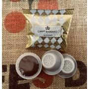 Barbaro 100 Capsule Bialetti Compatibili Caffè d'Italia Barbaro Decaffeinato